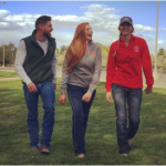 Equine Sciences apparel modeled by students