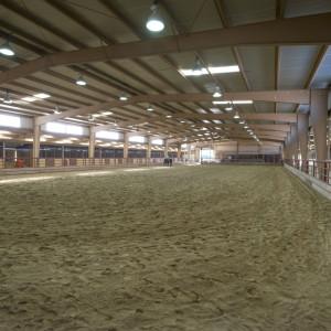 Indoor view of Adams Atkinson Arena