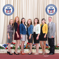 2014 National Reserve Championship Horse Judging Team at the Quarter Horse Congress
