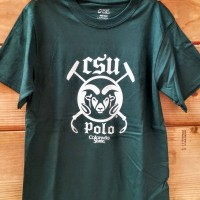 green csu polo t-shirt