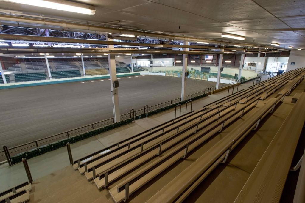 B W Pickett Arena Equine Sciences Colorado State