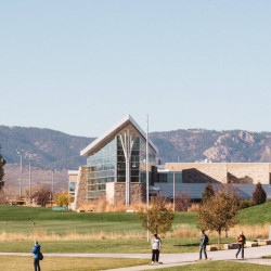 View of campus recreation center