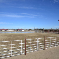 outdoor arena at the equine center