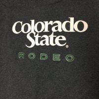 Dark gray long sleeve rodeo shirt