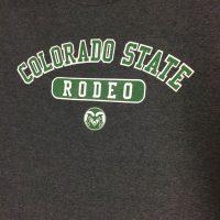 Dark gray rodeo t-shirt