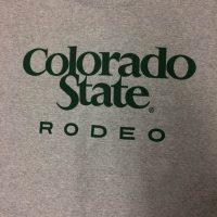 Light gray rodeo t-shirt