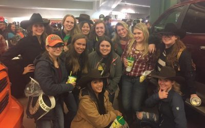 Mountain Riders members at the Stock Show