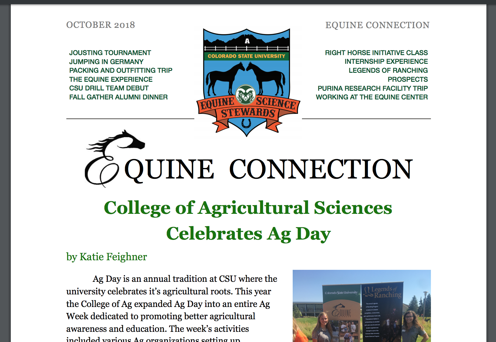 Picture of Equine Connection Magazine