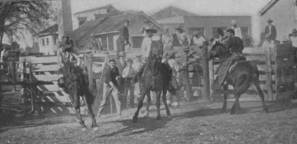 1932 Rodeo Picture CSU